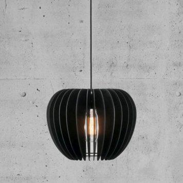 Tribeca Lampa wisząca – Drewniane – kolor Czarny