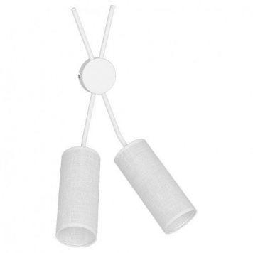 Tutto Lampa nowoczesna – Z abażurem – kolor biały