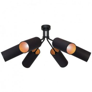Tutto Lampa sufitowa – Z abażurem – kolor Czarny