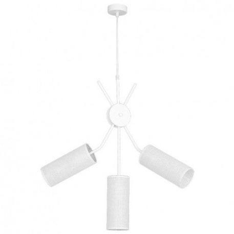 Tutto  Lampa wisząca – Z abażurem – kolor biały