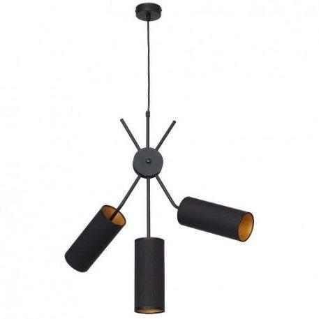 Tutto  Lampa wisząca – Z abażurem – kolor Czarny
