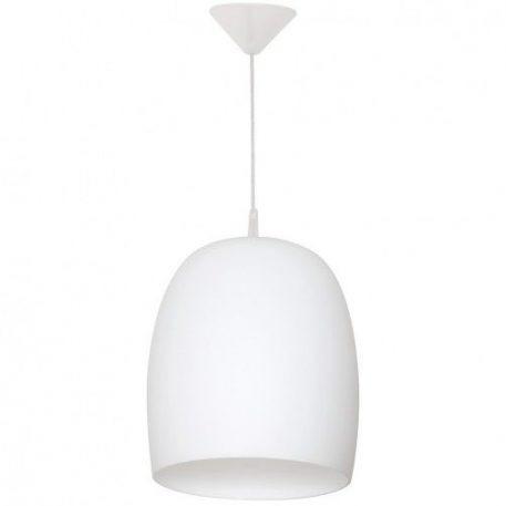 Una  Lampa wisząca – szklane – kolor biały