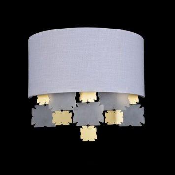 Valencia Lampa nowoczesna – Styl nowoczesny – kolor biały, złoty
