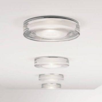 Vancouver Lampa sufitowa – Oczka sufitowe – kolor srebrny, transparentny