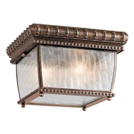 Venetian Rain Lampa zewnętrzna – szklane – kolor brązowy, transparentny