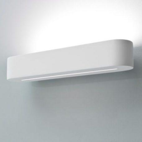 Veneto Lampa nowoczesna – Gipsowe – kolor biały