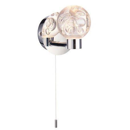Versa  Lampa nowoczesna – Styl nowoczesny – kolor srebrny, transparentny