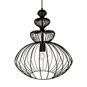 Verto  Lampa wisząca – Styl nowoczesny – kolor Czarny