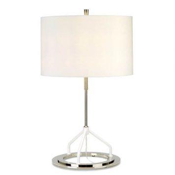 Vicenza Lampa nowoczesna – trójnogi – kolor biały, srebrny