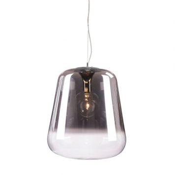 Vidro Lampa wisząca – szklane – kolor transparentny, Szary