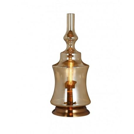 Vintage  Lampa klasyczna – szklane – kolor beżowy