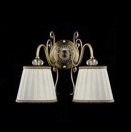 Vintage  Lampa klasyczna – Z abażurem – kolor brązowy
