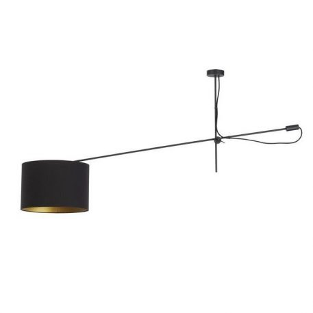 Viper  Lampa sufitowa – Z abażurem – kolor złoty, Czarny