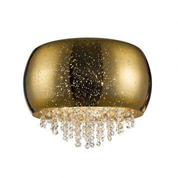 Vista Lampa sufitowa – Styl glamour – kolor złoty