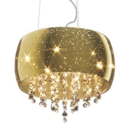 Vista Lampa wisząca – kryształowe – kolor złoty