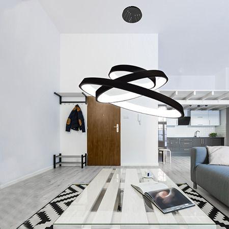 Vogue  Lampa wisząca – Lampy i oświetlenie LED – kolor Czarny