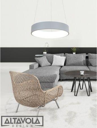 Vogue  Lampa wisząca – Lampy i oświetlenie LED – kolor Szary