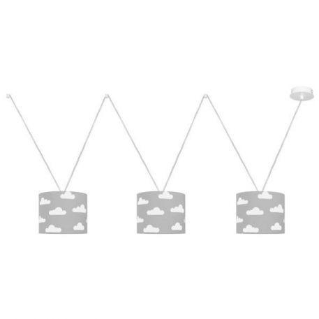 VVV Lampa wisząca – Styl nowoczesny – kolor biały, Niebieski