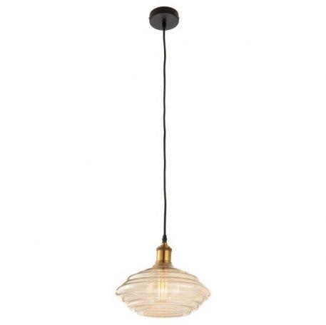 Walker Lampa wisząca – szklane – kolor beżowy