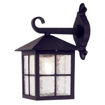 Winchester Lampa zewnętrzna – klasyczny – kolor transparentny, Czarny