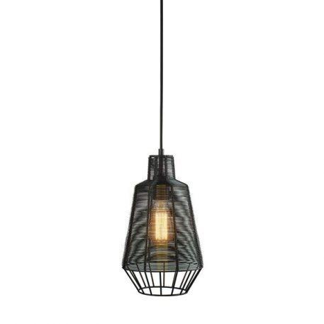 Wire  Lampa wisząca – industrialny – kolor Czarny