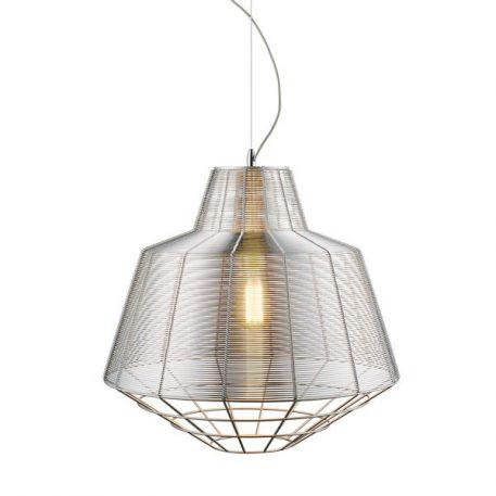 Wire  Lampa wisząca – Styl nowoczesny – kolor srebrny