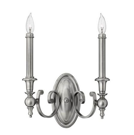 York Town Lampa klasyczna – klasyczny – kolor srebrny