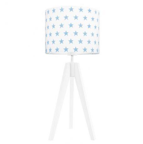Young Gwiazdki Lampa skandynawska – trójnogi – kolor biały, Niebieski