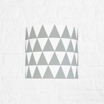 Young Lampa nowoczesna – Styl nowoczesny – kolor biały, Szary
