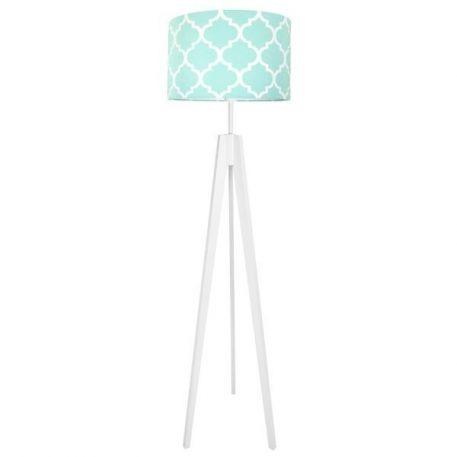 Young Lampa podłogowa – Z abażurem – kolor biały, Czarny