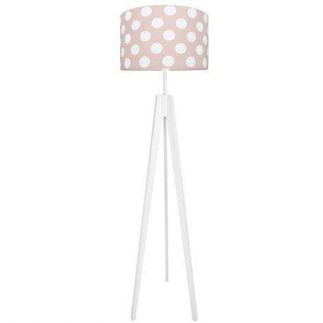 Young  Lampa podłogowa – Z abażurem – kolor biały, różowy