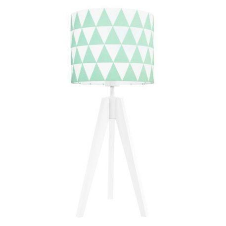 Young  Lampa skandynawska – trójnogi – kolor biały, Zielony