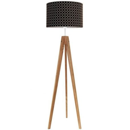 Young  Lampa skandynawska – trójnogi – kolor brązowy, Czarny
