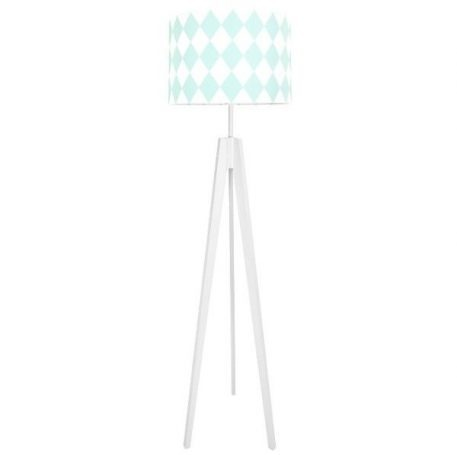 Young  Lampa skandynawska – Z abażurem – kolor biały, Zielony