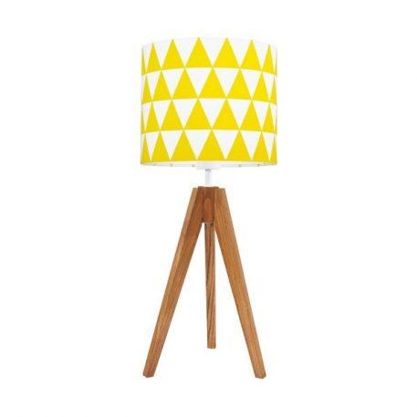 Young  Lampa skandynawska – Z abażurem – kolor brązowy, żółty