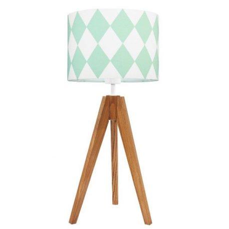 Young Romby Lampa skandynawska – Z abażurem – kolor biały, Zielony