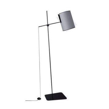 Zelda  Lampa podłogowa – Styl nowoczesny – kolor Czarny, Szary
