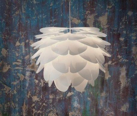 Zen Lampa wisząca – Drewniane – kolor biały