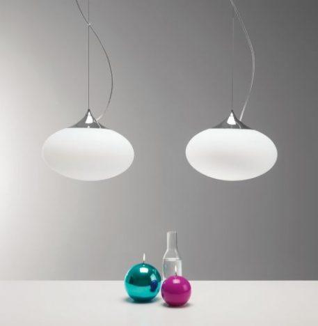 Zeppo Lampa wisząca – Styl nowoczesny – kolor biały