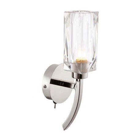 Zeus  Lampa nowoczesna – szklane – kolor srebrny, transparentny