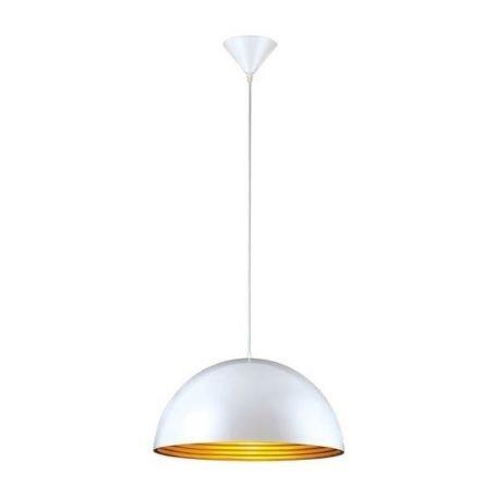 Zola Lampa wisząca – Styl nowoczesny – kolor biały, złoty