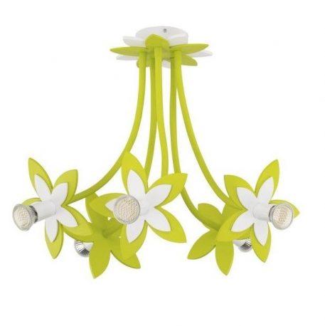 Żyrandol Flowers  do pokoju dziecięcego