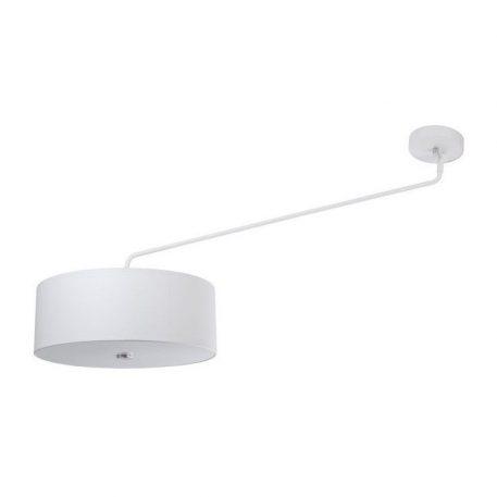 Lampa sufitowa Hawk – biały abażur