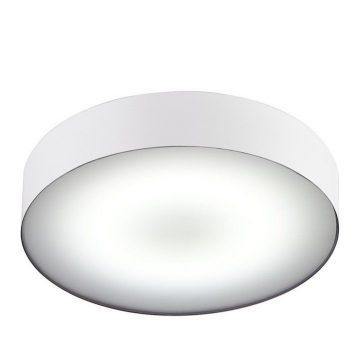 Biały plafon Arena – okrągły, IP44, LED