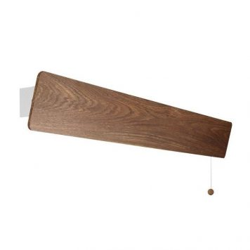 Długi kinkiet Oslo – drewniany, scandi