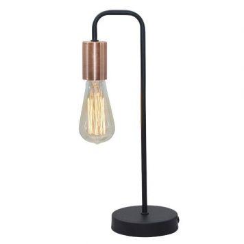 Herpe Lampa stołowa – industrialny – kolor Czarny
